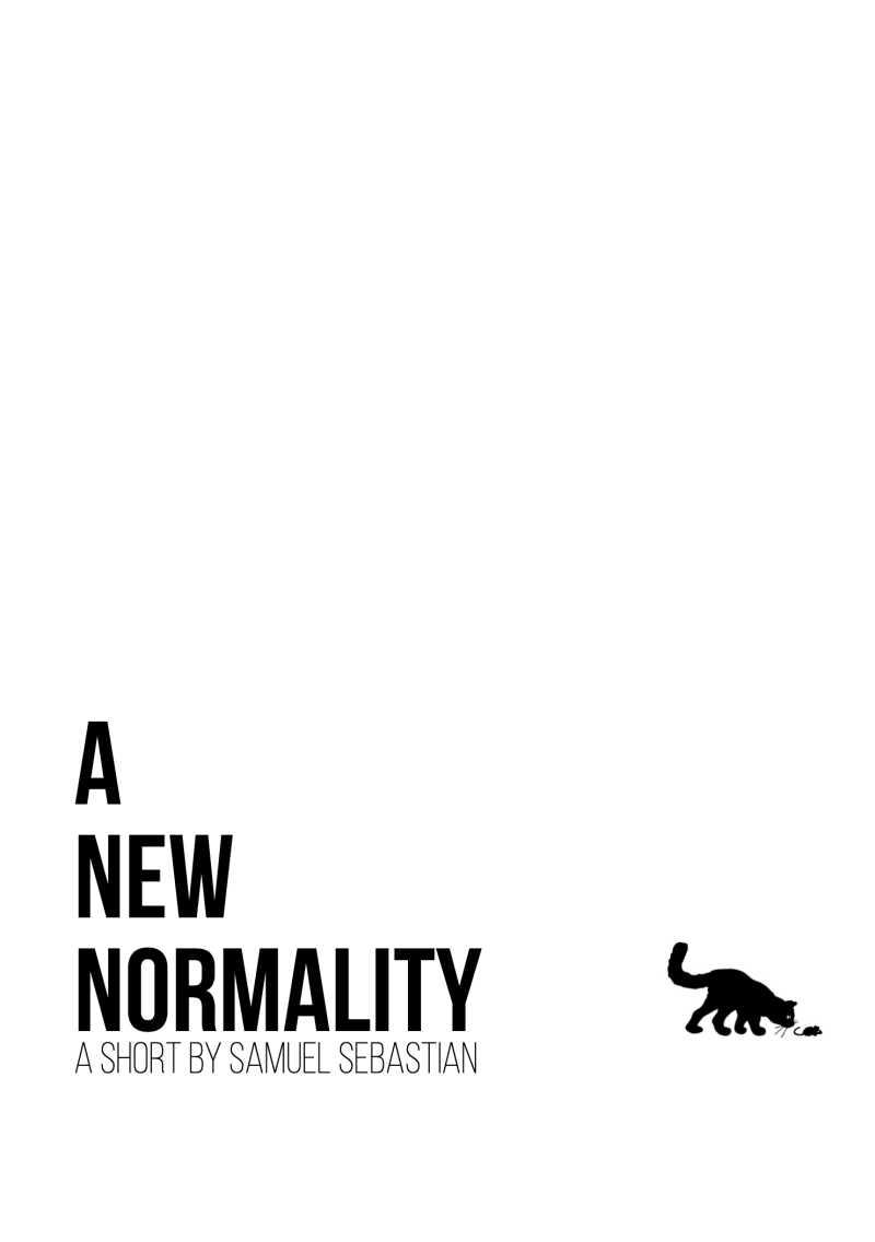 A NEW NORMALITY poster